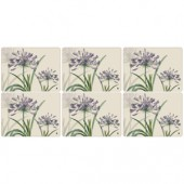 Pimpernel 6 RHS Agapanthus Medium Placemats (15320)