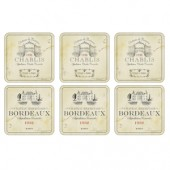 Pimpernel Vin de France Coasters Set of 6 (15324)