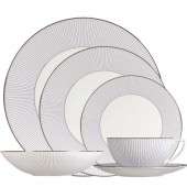 Jasper Conran Pin Stripe Dinner Set - 24 Piece (15336)