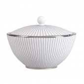 Jasper Conran Pin Stripe Covered Sugar Bowl (15355)