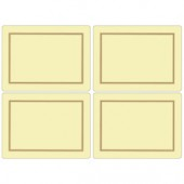Pimpernel 4 Classic Cream Large Tablemats (15362)