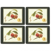 Pimpernel 4 RHS Hooker Fruits Large Tablemats (15384)