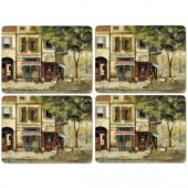 Pimpernel Parisian Scenes Tablemats Set of 4 (15398)