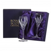 Highland Box of 2 Port or Sherry Glasses (15629)