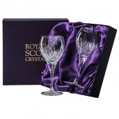 Highland Box of 2 Large Wine Glasses (15631)