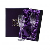 Royal Scot Box of 2 Flute Champagne Glasses (15632)