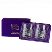 Royal Scot Box of 2 Large Old Fashioned  Tumblers (15634)