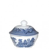 Blue Willow Covered Sugar Bowl (15759)