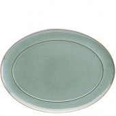 Regency Green 37cm Oval Platter (1576)
