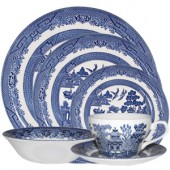 Blue Willow 24 Piece Dinner Set (15770)