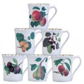 Hookers Fruit Set of 6 Royale Mugs (15784)