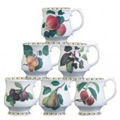 Hookers Fruit Set of 6 Stacker Mugs (15785)