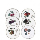 Hookers Fruit Set of 6 Tea Side Plates (15790)
