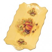 Orchard Gold Sandwich Tray (15815)