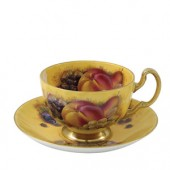 Orchard Gold Oban Teacup and Saucer (15817)