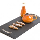 Just Slate Company 50cm Slate Serving Tray with Chilli Handles (16101)
