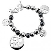 Hot Diamonds Selene Twilight Silver Charm Bracelet (16307)
