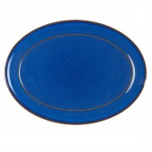 Imperial Blue 37cm Oval Platter (1630)