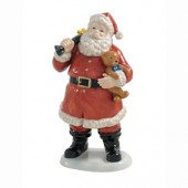 Aynsley China Santa with Bear (16396)