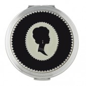 Stratton of Mayfair Cameo Round Dual Mirror (16514)