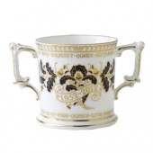 Royal Crown Derby Gadroon Loving Cup (16532)