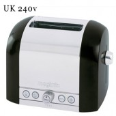 Le Toaster Black 2 Slot Toaster (17061)