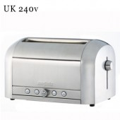 Le Toaster Brushed 4 Slot Toaster (17064)