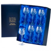 Royal Scot Box of 6 Port or Sherry Glasses (17169)