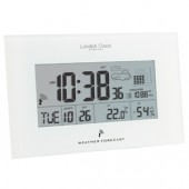London Clock Company Indoor RC Wireless Weather Forecaster (17363)