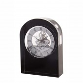Dartington Crystal Black Curve Clock (17724)