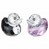 Swarovski Happy Ducks Sir and Lady Duck (17786)