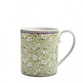 Monsoon by Denby Daisy Green Straight Sided Mug (17848)