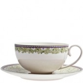 Monsoon by Denby Daisy Green Teacup and Saucer (17849)