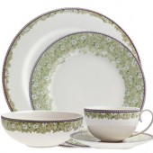 Monsoon by Denby Daisy Green 20 Piece Dinner Set (17855)