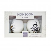 Monsoon by Denby Chrysanthemum Salt and Pepper Pots (17870)