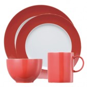 Sunny Day Red 4 Piece Place Setting (18060)