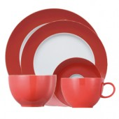 Sunny Day Red 5 Piece Place Set (18075)