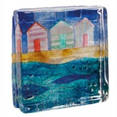 Unlimited Editions Seascape Beach Huts Sandcast (18108)