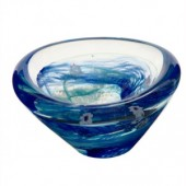 Unlimited Editions Raindrop Aqua Dish (18116)