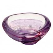 Caithness Glass Raindrop Violet Dish (18117)