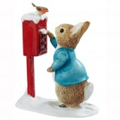 Peter Rabbit Posting a Letter Figure (18173)
