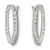 Swarovski Somerset Hoop Pierced Earrings (18194)