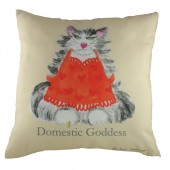 Evans Lichfield Domestic Goddess Cushion (18344)