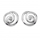 Eternity Eternity Spiral Stud Earrings (18368)