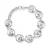 Hot Diamonds Eternity Spiral Bracelet (18370)