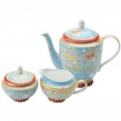 Maxwell & Williams Jacqueline Blue Tea Set (18485)