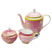 Maxwell & Williams Gabrielle Pink Tea Set (18486)