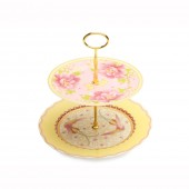 Maxwell & Williams Gabrielle-Antoinette 2 Tier Cake Stand (18488)