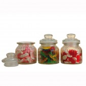 Candystore Storage Jars Set of 3 Candystore Canisters (18707)