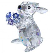 Swarovski Rabbit with Forget-me-not (18973)